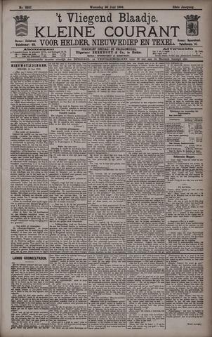 Vliegend blaadje : nieuws- en advertentiebode voor Den Helder 1894-06-20