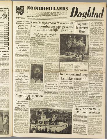 Noordhollands Dagblad : dagblad voor Alkmaar en omgeving 1960-12-06