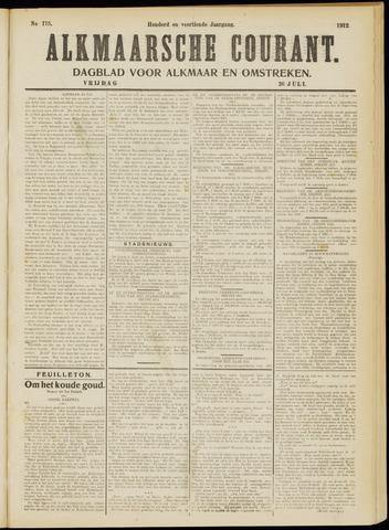 Alkmaarsche Courant 1912-07-26
