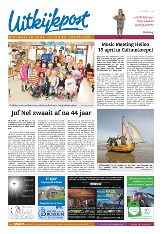 Uitkijkpost : nieuwsblad voor Heiloo e.o. 2015-04-15
