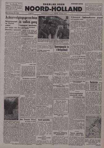 Dagblad Noord-Holland, Schager editie 1942-07-21