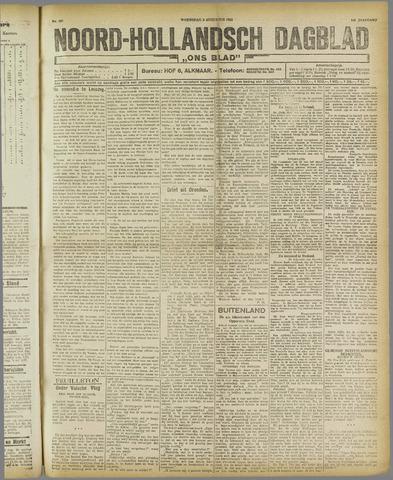 Ons Blad : katholiek nieuwsblad voor N-H 1921-08-03