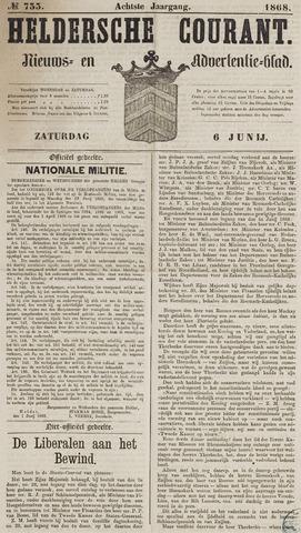 Heldersche Courant 1868-06-06