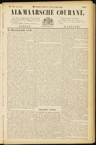Alkmaarsche Courant 1898-01-30