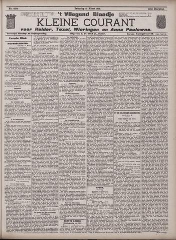 Vliegend blaadje : nieuws- en advertentiebode voor Den Helder 1913-03-15