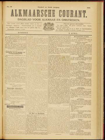 Alkmaarsche Courant 1908-04-21
