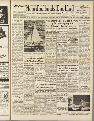 Nieuw Noordhollandsch Dagblad : voor Alkmaar en omgeving 1949-08-19