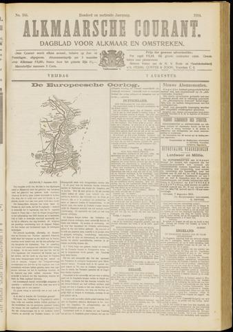 Alkmaarsche Courant 1914-08-07
