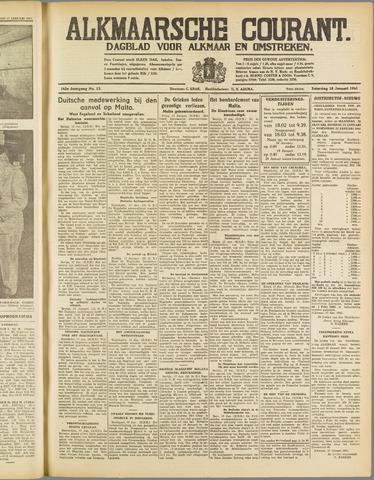 Alkmaarsche Courant 1941-01-18