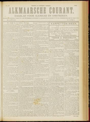 Alkmaarsche Courant 1918-04-15