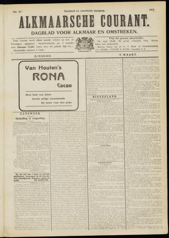 Alkmaarsche Courant 1912-03-19