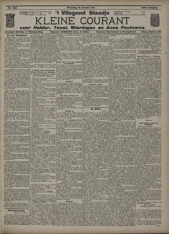 Vliegend blaadje : nieuws- en advertentiebode voor Den Helder 1910-01-26