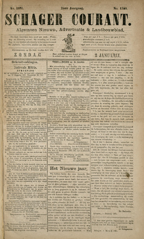 Schager Courant 1881-01-02