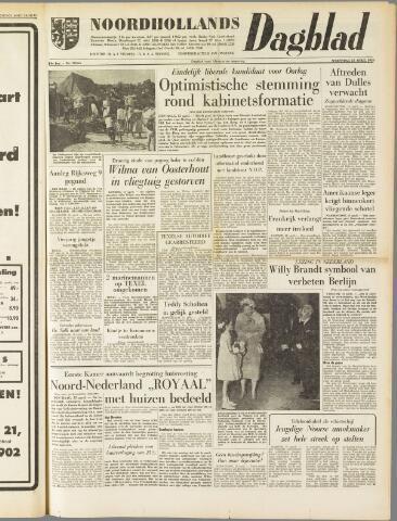 Noordhollands Dagblad : dagblad voor Alkmaar en omgeving 1959-04-15