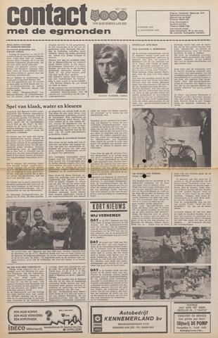 Contact met de Egmonden 1976-08-11
