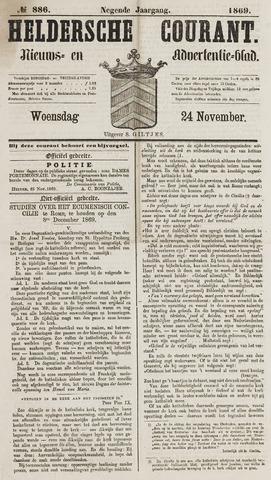 Heldersche Courant 1869-11-24