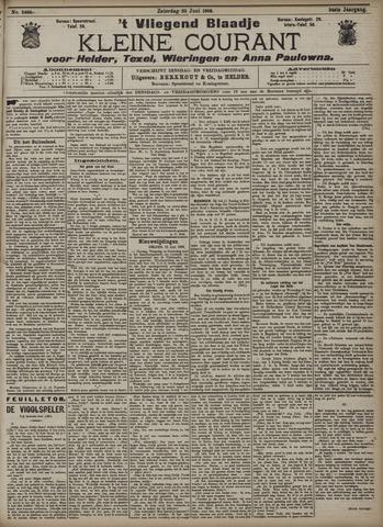 Vliegend blaadje : nieuws- en advertentiebode voor Den Helder 1906-06-23