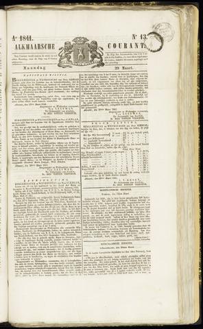 Alkmaarsche Courant 1841-03-29