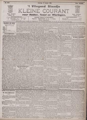 Vliegend blaadje : nieuws- en advertentiebode voor Den Helder 1902-01-25