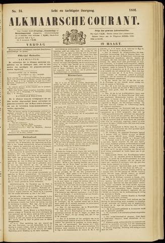 Alkmaarsche Courant 1886-03-19