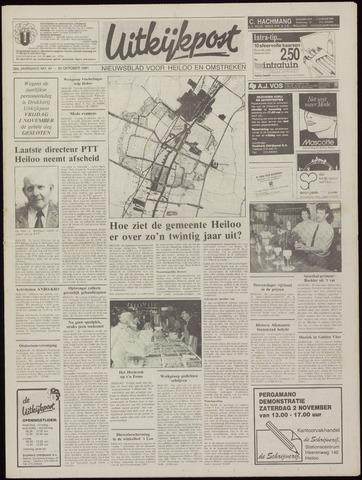 Uitkijkpost : nieuwsblad voor Heiloo e.o. 1991-10-30