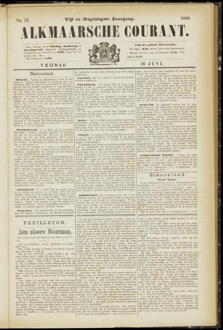Alkmaarsche Courant 1893-06-16