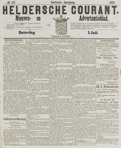 Heldersche Courant 1876-07-01