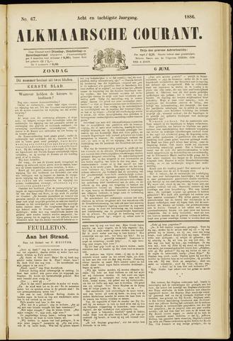 Alkmaarsche Courant 1886-06-06