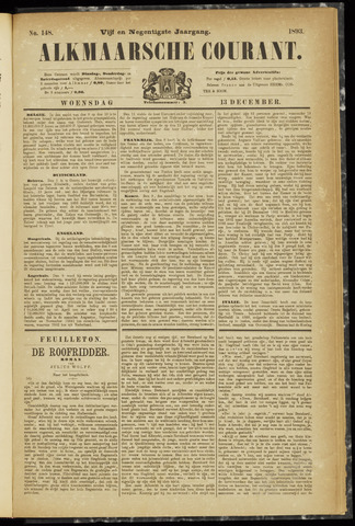 Alkmaarsche Courant 1893-12-13