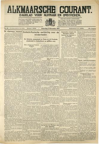 Alkmaarsche Courant 1937-11-06
