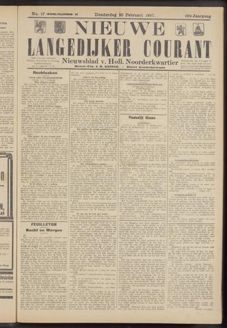 Nieuwe Langedijker Courant 1927-02-10