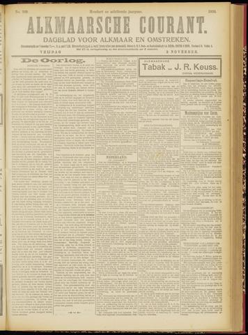 Alkmaarsche Courant 1916-11-03