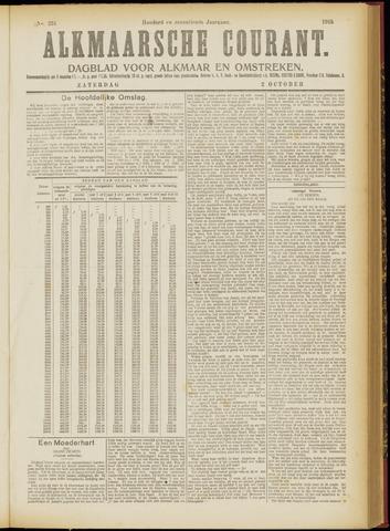 Alkmaarsche Courant 1915-10-02