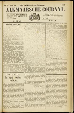 Alkmaarsche Courant 1894-07-29