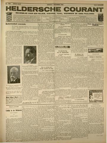 Heldersche Courant 1933-11-07