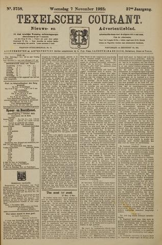 Texelsche Courant 1923-11-07