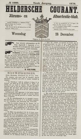 Heldersche Courant 1870-12-28