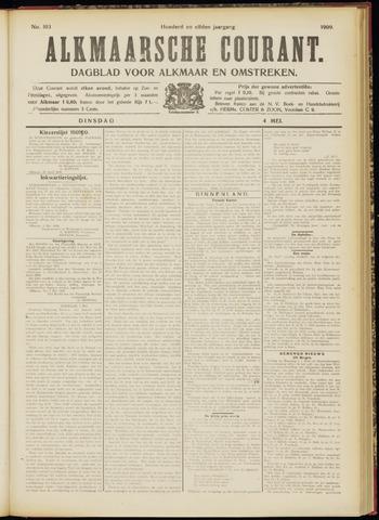 Alkmaarsche Courant 1909-05-04
