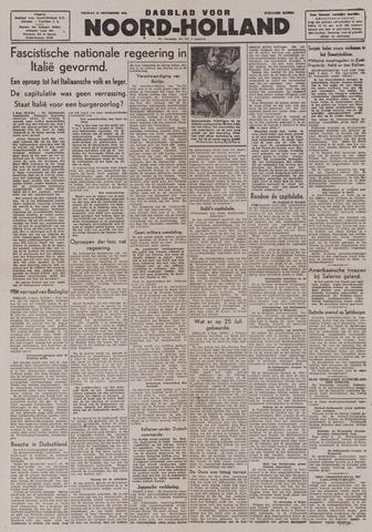 Dagblad Noord-Holland, Schager editie 1943-09-10