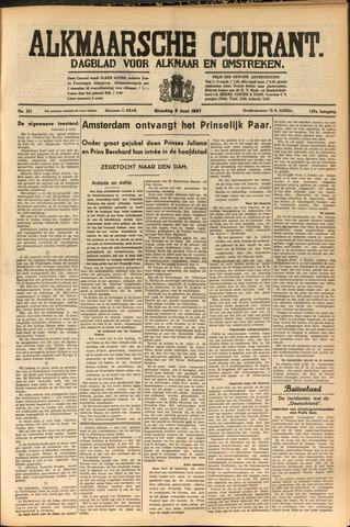 Alkmaarsche Courant 1937-06-08