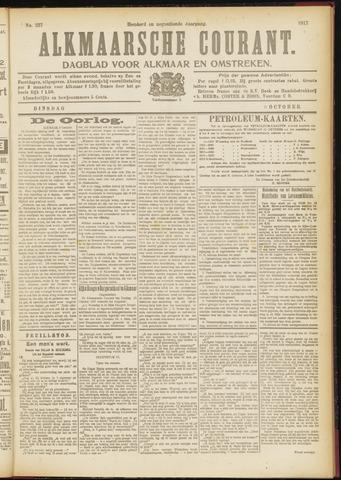 Alkmaarsche Courant 1917-10-09
