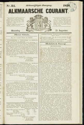 Alkmaarsche Courant 1856-08-25