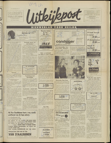 Uitkijkpost : nieuwsblad voor Heiloo e.o. 1972-10-11