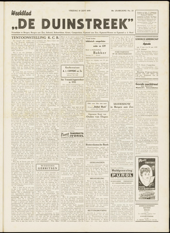 De Duinstreek 1959-06-19