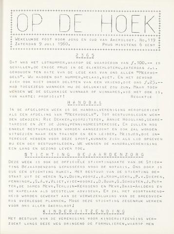 Op De Hoek, weekblad voor Akersloot 1960-07-09