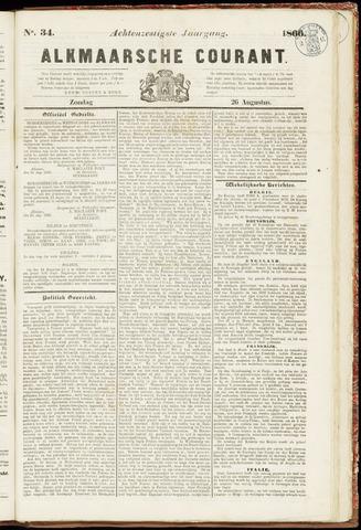 Alkmaarsche Courant 1866-08-26