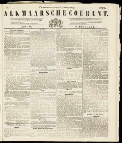 Alkmaarsche Courant 1870-12-18