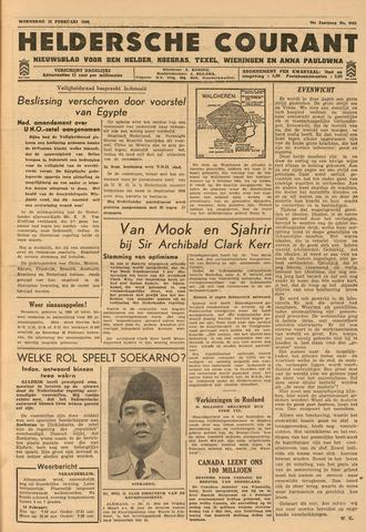 Heldersche Courant 1946-02-13