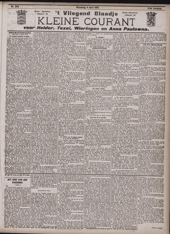 Vliegend blaadje : nieuws- en advertentiebode voor Den Helder 1903-04-08
