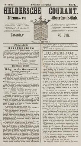 Heldersche Courant 1872-07-20